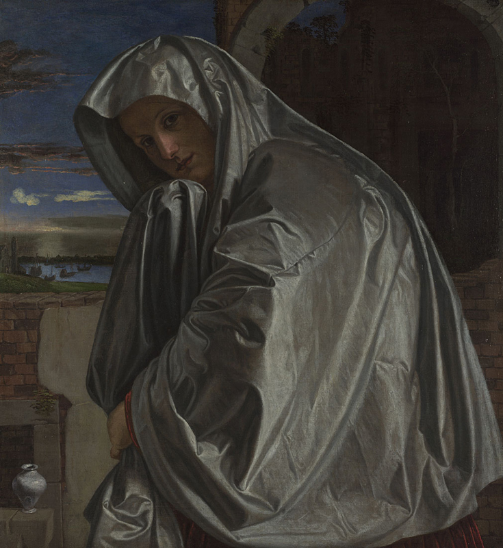 Giovanni Girolamo Savoldo, about 1480 - about 1548 Mary Magdalene about 1535-40 Oil on canvas, 89.1 x 82.4 cm Bought, 1878 NG1031 http://www.nationalgallery.org.uk/paintings/NG1031