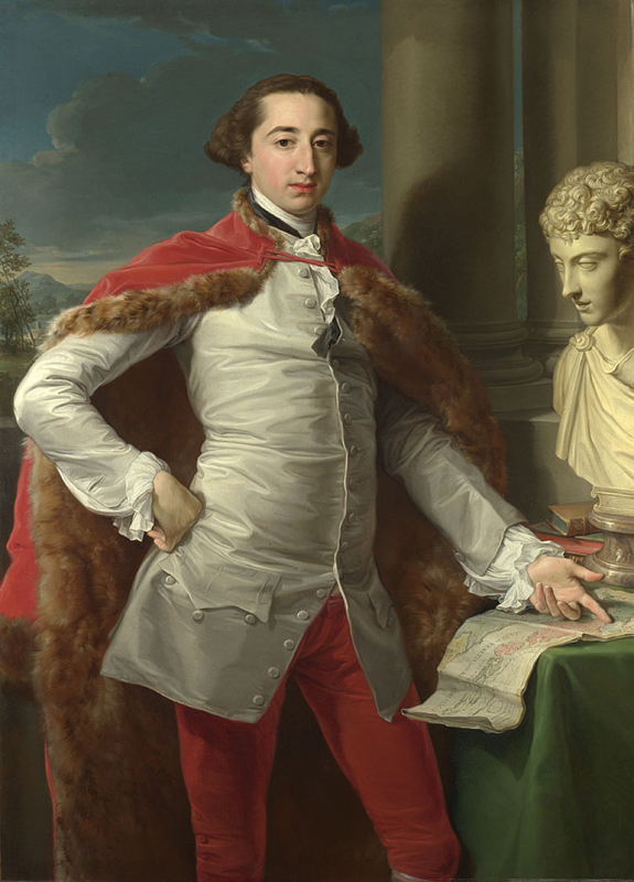 Pompeo Girolamo Batoni, 1708 - 1787 Portrait of Richard Milles probably 1760s Oil on canvas, 134.6 x 96.3 cm Bought, 1980 NG6459 http://www.nationalgallery.org.uk/paintings/NG6459