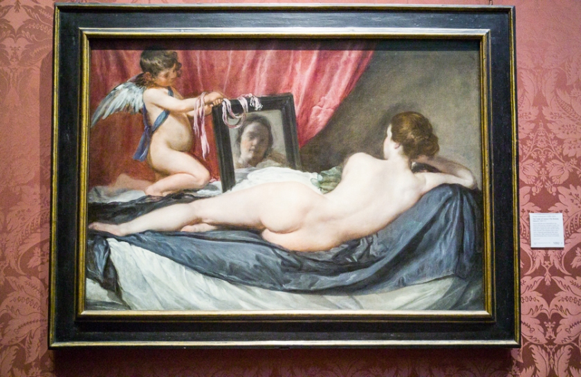 The Toilet of Venus ('The Rokeby Venus') 1647-51, Diego Velázquez. National Gallery, London.