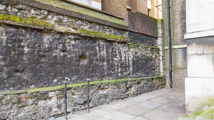London Wall Walk Panel 10 (missing)