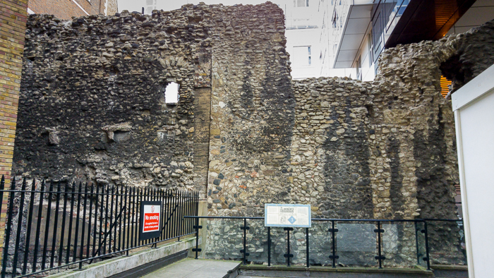 London Wall Walk - panel 3 (outer wall)