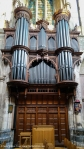 Fancy looking Organ in South Transept