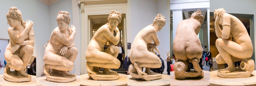 Lely's Venus (Aphrodite), sculpture 1963.10-29.1. All round view