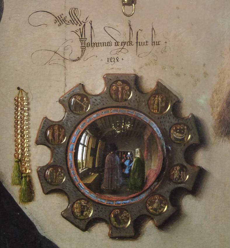 Arnolfini portrait - detail