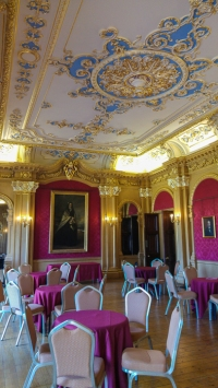 Hylands House - banqueting room