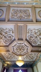 Hylands House - Drawing Room - ceiling