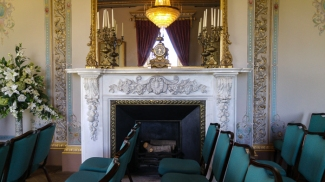 Drawing Room, fireplace