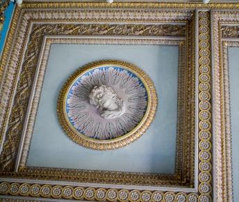 Drawing Room - ceiling corner detail