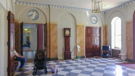 Hylands House - Entrance