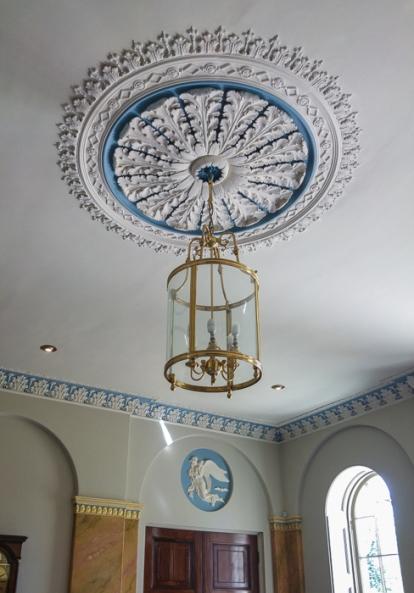 Hylands House - Entrance Light
