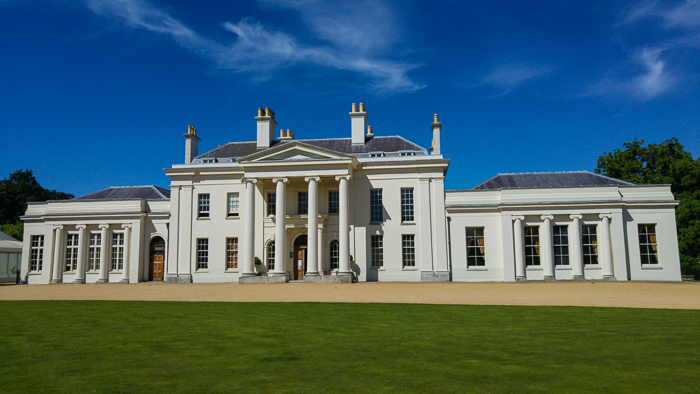 Hylands House - Exterior