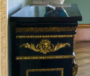 Saloon - side of Pier cabinet