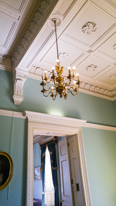 Hylands House - Saloon