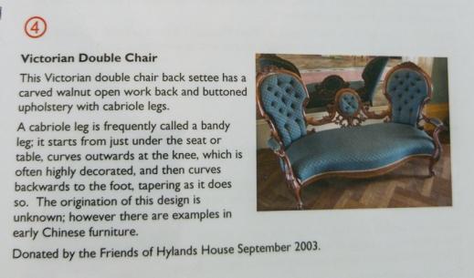 Saloon chair info