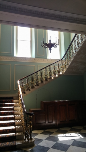 Hylands House - Open well style Grand staircase area