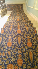Hylands House - Grand Staircase - Carpet
