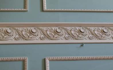 Hylands House - Wall Pattern