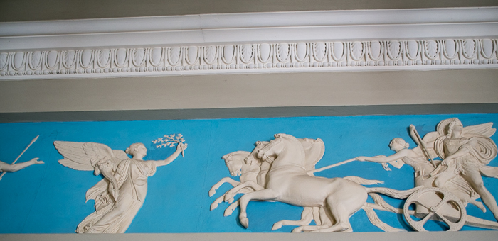 Hylands House - Classical Mouldings