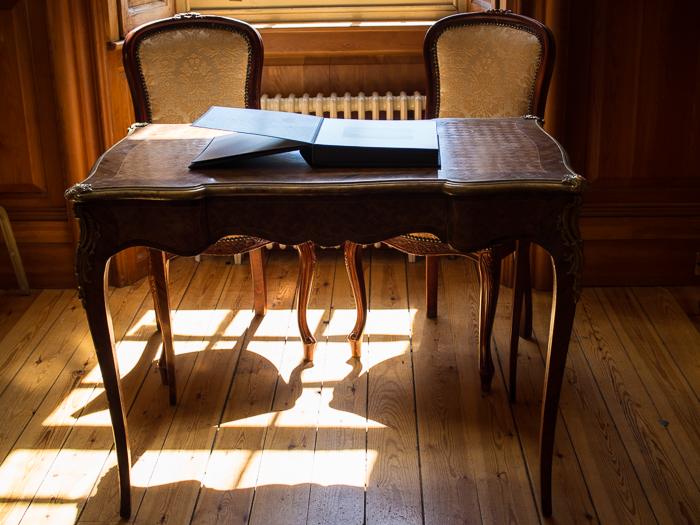 Hylands House - study