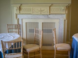 Terrace Room fireplace
