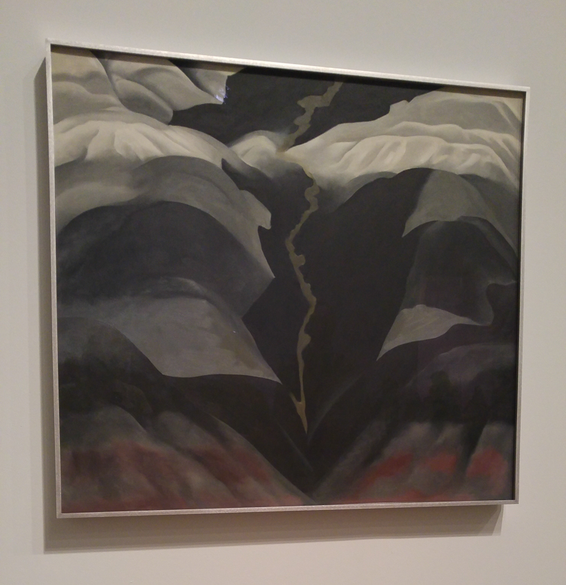 Black Place III, 1944. Oil paint on canvas. Georgia O'Keeffe