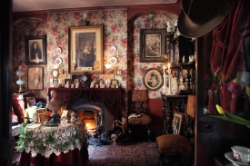 Victorian Room - Dennis Severs House, © Roelof Bakker - 2015, used with permission