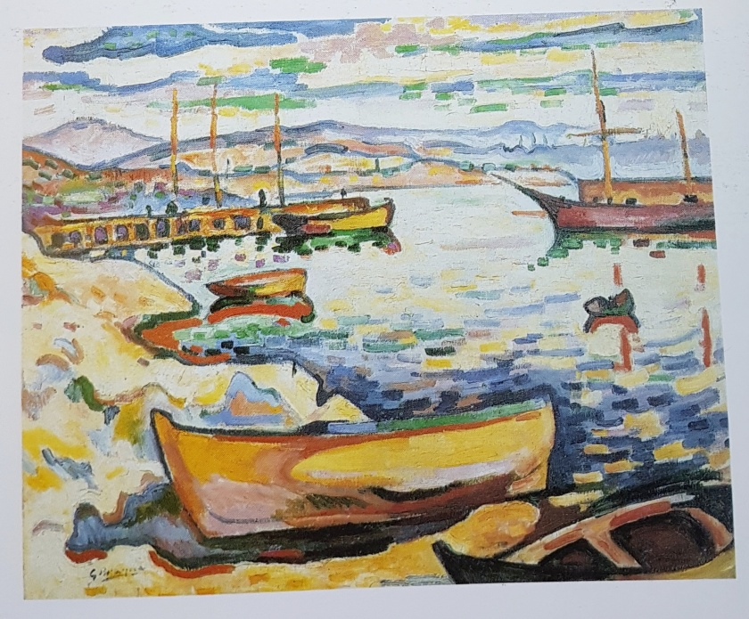 Essential reading oca art history 1 western art private collection georges braque le port de lestaque the port of lestaque autumn 1906 oil on canvas 5061 cm fridart foundation fandeluxe Image collections